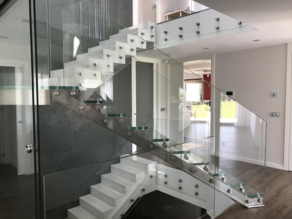 Acristalamientos en escaleras